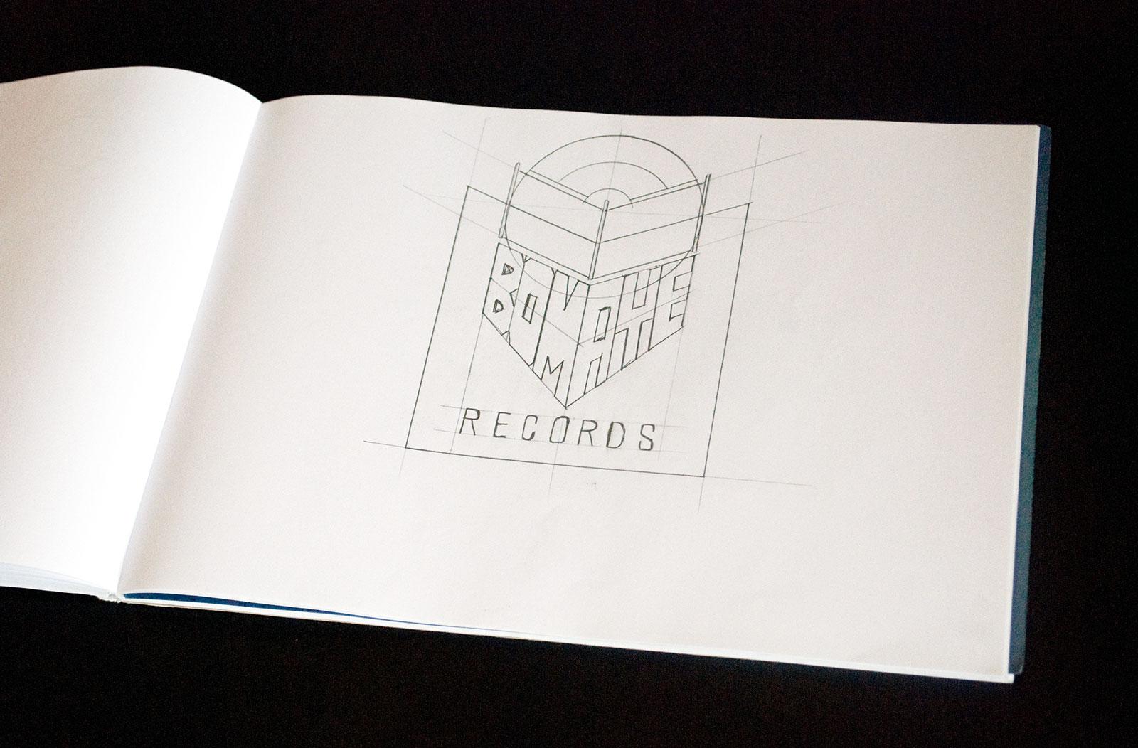 bomaye_records_logo_sketch