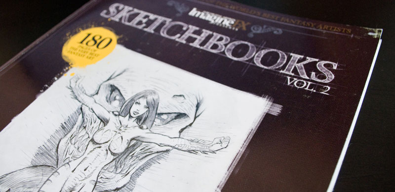 IMAGINE FX: SKETCHBOOKS VOL.2 – RECENZJA