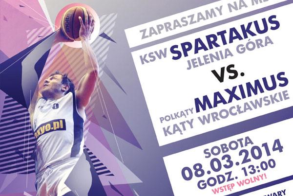 KSW Spartakus Game Poster