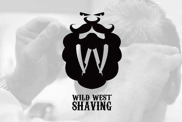 Wild West Shaving Logo